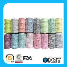 Colored Jute Rope Jute Twine Used In Gift Packing