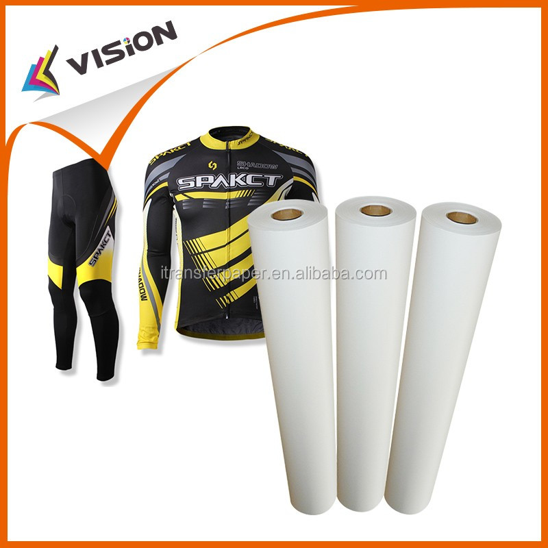 t-shirt inkjet sublimation transfer paper roll for clothing