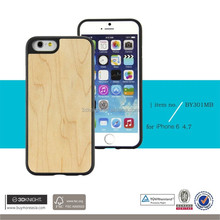 Free Sample 3D Knight Blank Wood TPU Back Cover Mobile Phone Case For Iphone 6s Hand Made