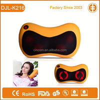 Butterfly Shape Office Car Used Neck and Shoulder Shiatsu Heat Electric Massage Pillow