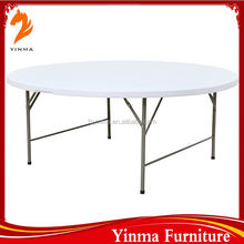 Hot Sale factory price plastic table with removable legs