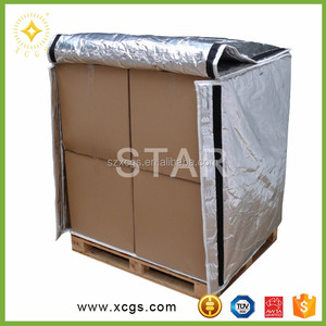 96% reflectivity bubble structure thermal blanket for container