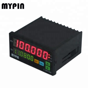 Real-time monitoring Single phase 48*96mm DC Digital Amp Hour Meter flow meter