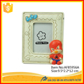 Cute Baby Frame Spiderman Custom Resin Baby Photo Frame For Baby Gifts