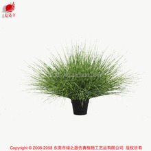 Artificial Potted Grass Synthetic Onion Grass in Pot Weed Grass Pots Plant