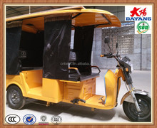 brand new 200CC/250CC/304CC electric 4 passengers three wheel taxi tricycle for sale in Bolivia