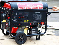 CE approved new advanced 6.5KW famous welders genset(JWS-300E)