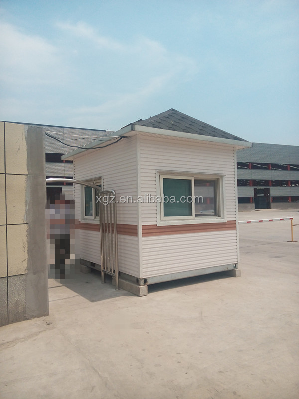 cheap nice appearance prefab sentry box