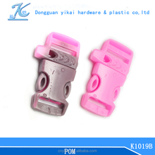"2015 Dongguan Yikai 5/8"" survival whistle buckle for paracord bracelet chinese supply"