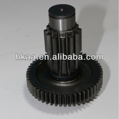 OEM gearbox output shaft ,gearbox input shaft,Black coated Truck gearbox parts Fast