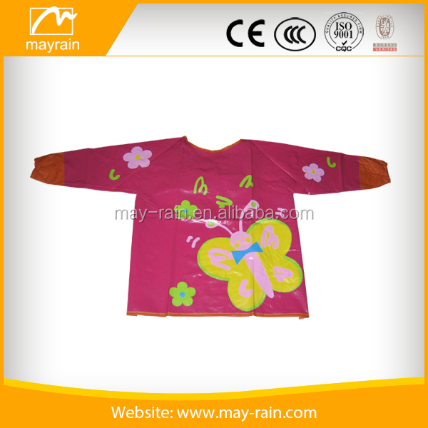 2017 Waterproof Plastic Drawing PVC or polyester Apron