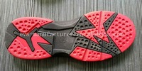 Two color New material Light TPR/PVC outsole for sports shoes