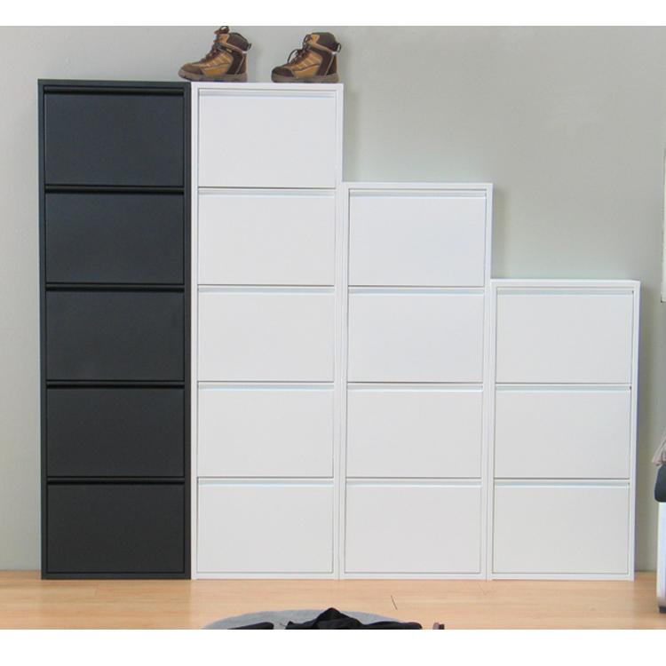 New Design Shoe Cabinet Design Space Saving Tall Shoe