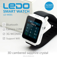 LEDO Unique quality android wear OS waterproof smart watch men and women wrist watch