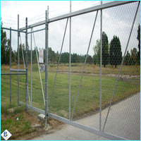 high quality hot sale galvanized pvc coated 9 gauge chain link fence