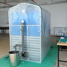 China Puxin Portable Assembly Biogas Plant for 65kg/d Vegetable Waste