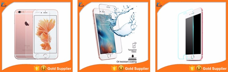 Universal touch electroplated screen protector glass film for iphone 7 plus, explosion-proof smart tempered screen guard