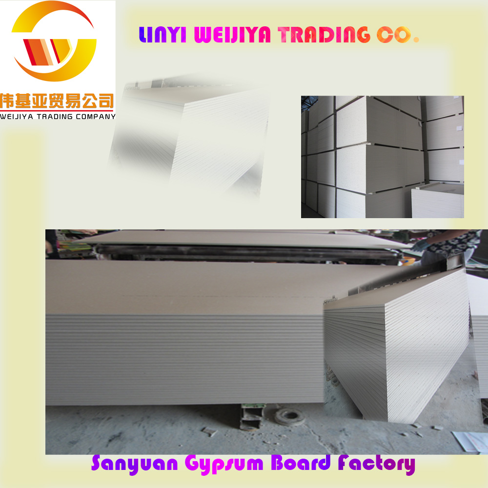 WEIJIYA high quality foil backed plasterboard price