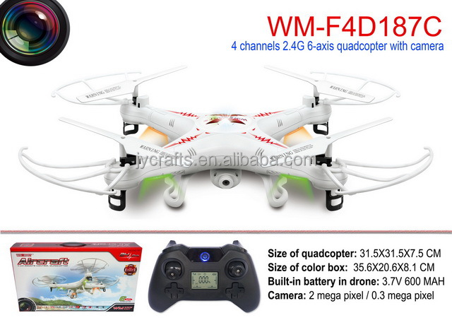 Rc drone with 2.0MP HD Camera Plastic Body