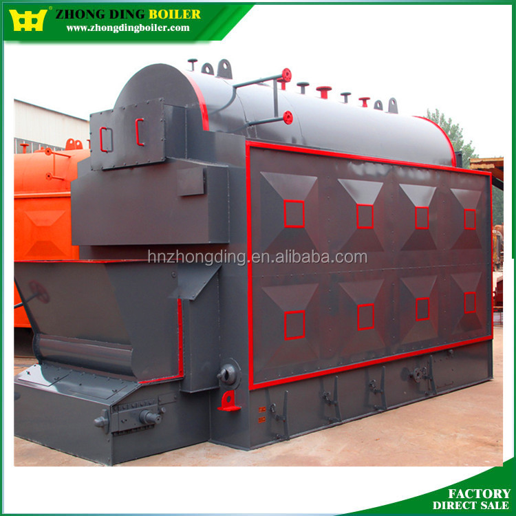ISO Certification 16 Bar Coal Wood Fired Chain Grate Stoker Biomass steam Boiler for Sale
