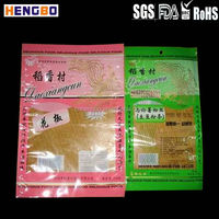 Horse food packing colorful stand up pouches