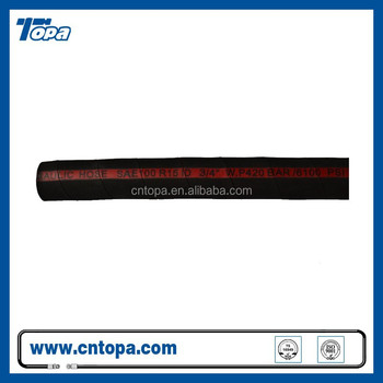 R15 steel wire braided Heat resistant Oil Transfering high pressure hose pipe