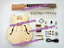 Afanti Music Es335 Style 12 Strings Electric Guitar Kit (AES335-12)