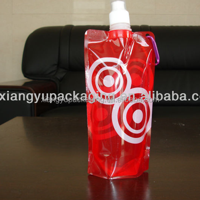 Plastic Drinking Bottle/Clear Plastic Container With Lid 02