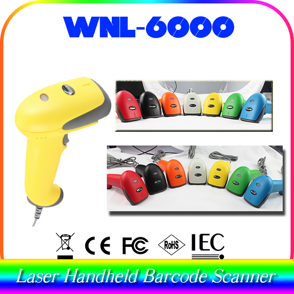 1D 2D 3D bar code scanner with PDA function