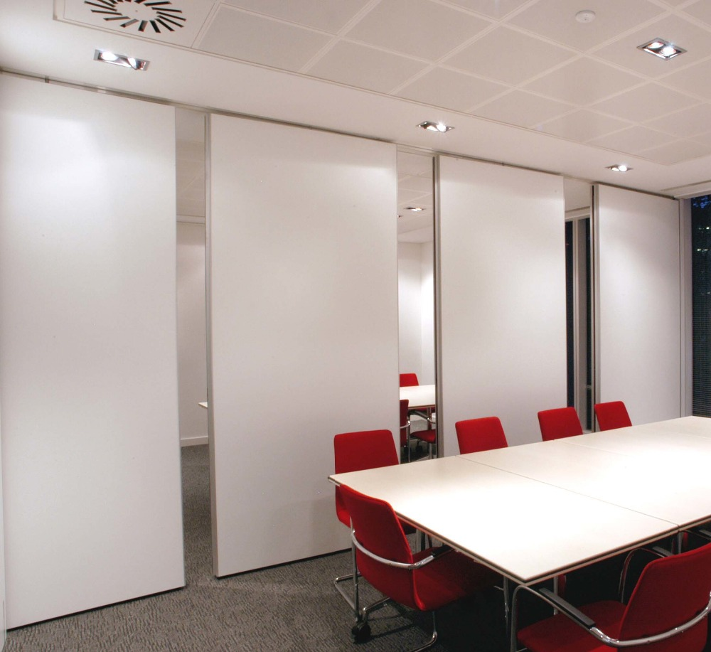 Meeting room acoustic vertical sliding folding partition hotel soundproof movable partitions