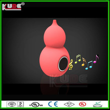 Halloween Gift Gourd Shape Music Speaker LED Changing Color With Bluetooth