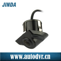 Small design car reverse camera in black and sliver color, car cmoss Image sensor , night vision wehice auto car reverse camera