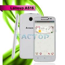 New Launch Lenovo A516 Unlocked 4.5inch 1.3GHz 5MP Mobile Phone 3G Wifi Dual SIM