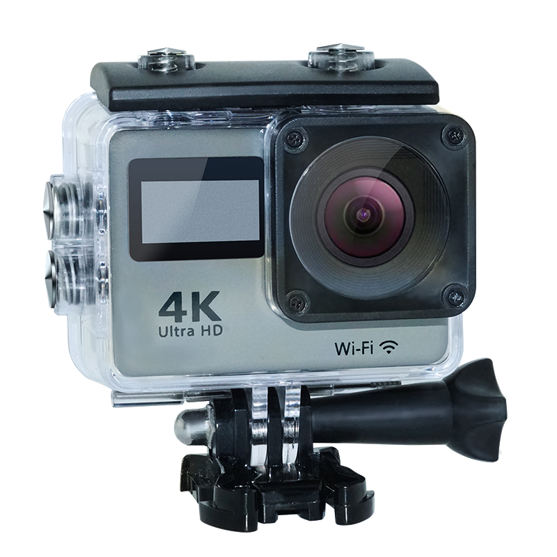 "2017 Newest 2.0"" 4k Ultra HD action camera touch screen with wifi remote control"