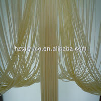 flat string partition curtain for kitchen door