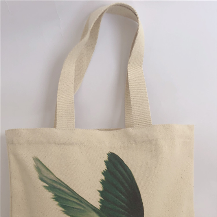Fashion style recyclable shopping cotton bag