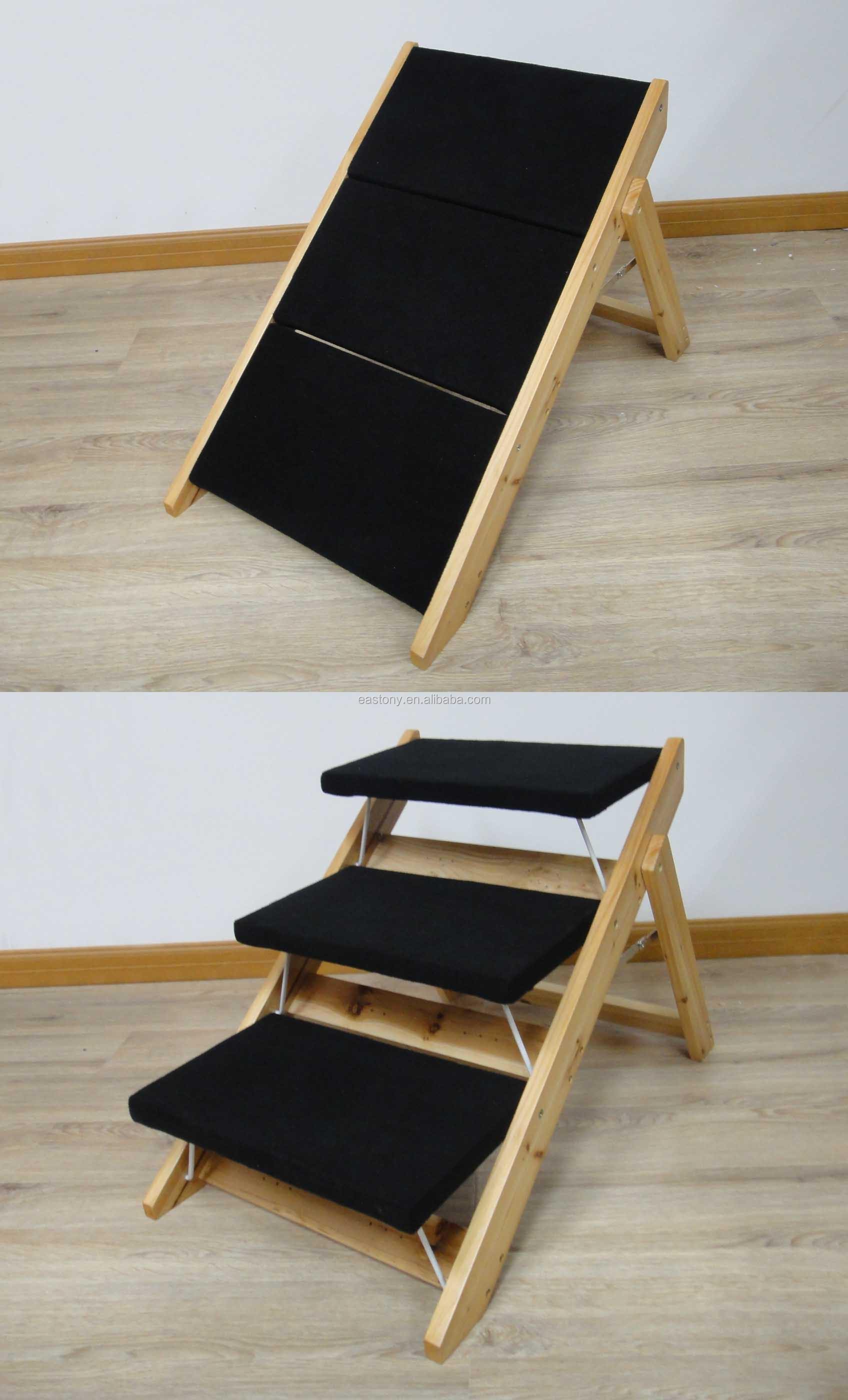 multi fonction en bois chien rampe pet escaliers chien escaliers chien chaise lits. Black Bedroom Furniture Sets. Home Design Ideas