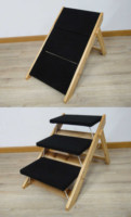 Multi Function Wooden Dog Ramp, Pet Stairs, Dog Stairs, Dog Chair