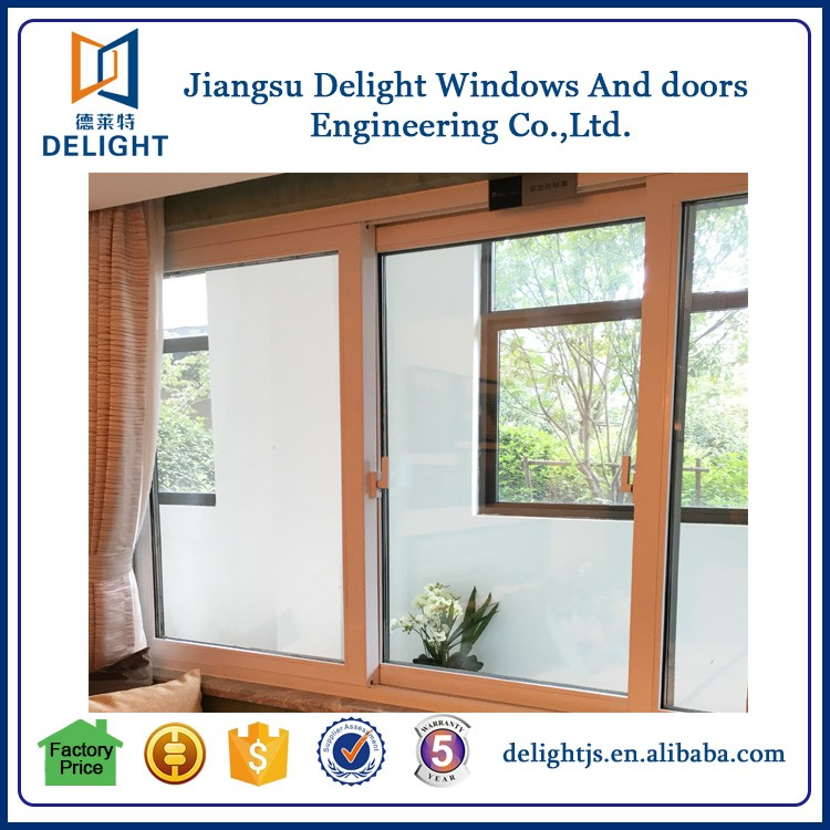 Prefabrizated house sliding pull up window with simple design