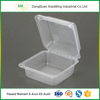 Manufacturer supply plastic disposable food tray with lid