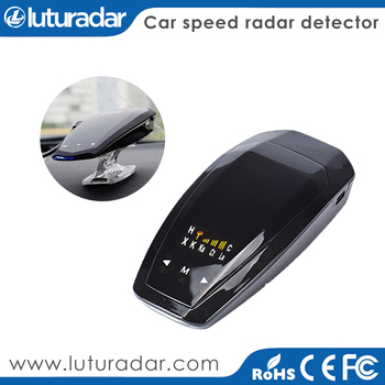 Car Speed Police Radar Detector VB with K KA band Russian/ English Voice LED display