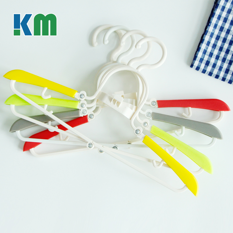 Patented Product Short Hook Plastic Folding Clothes Clothes Hanger