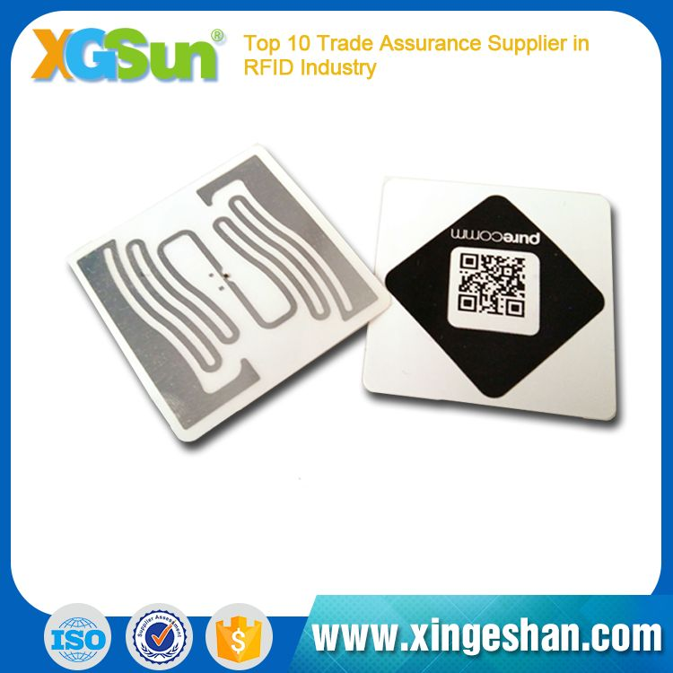 Hot Sell Customized clothing rfid label tag,clothing hang tag
