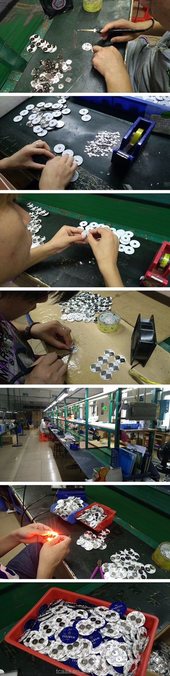 Factory supplier customized colorful led bottle sticker