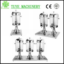 Stainless Steel Gold-plating Buffet Juice Dispenser Machine For Hotel Restaurant Buffet Equipment