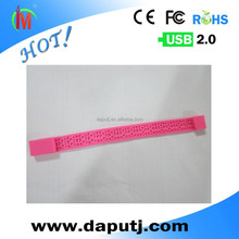 Light weight Fashionable Silicone Bracelet USB Stick Cheap Price for Promotion