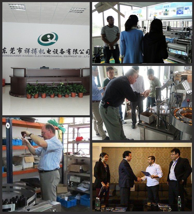 Factory price high accuracy automatic liquid filling machine for production line