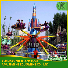 Fairground Rides For Sale Amusement Park Kids Games Self Control Plane Rides Flying Jet Kids Space Shuttle Aeroplane