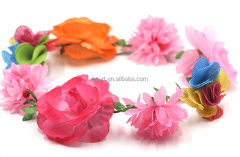 good quality rose hawaiian flower lei garland