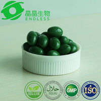 Organic spirulina slimming capsule for body building supplements
